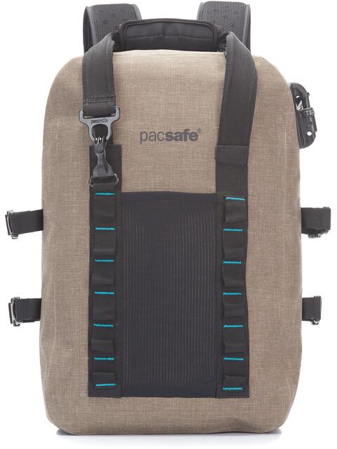 Pacsafe Dry Plecak 25L beżowy
